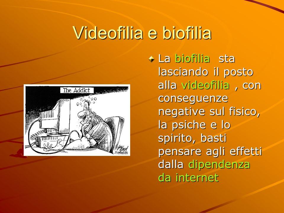 Videofilia e biofilia