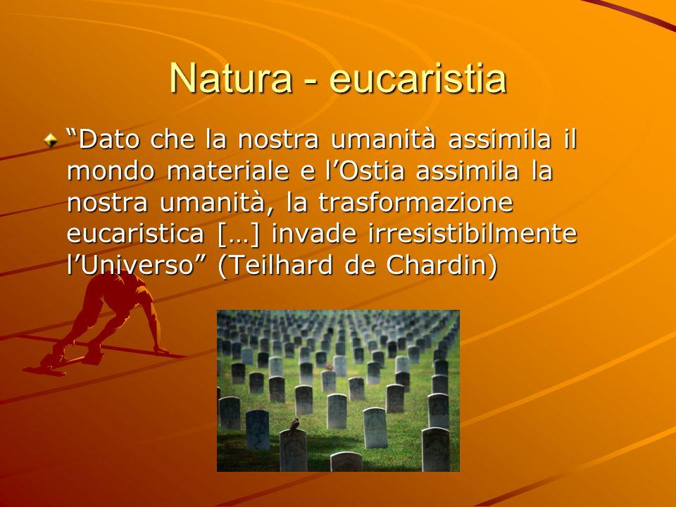 Natura - eucaristia