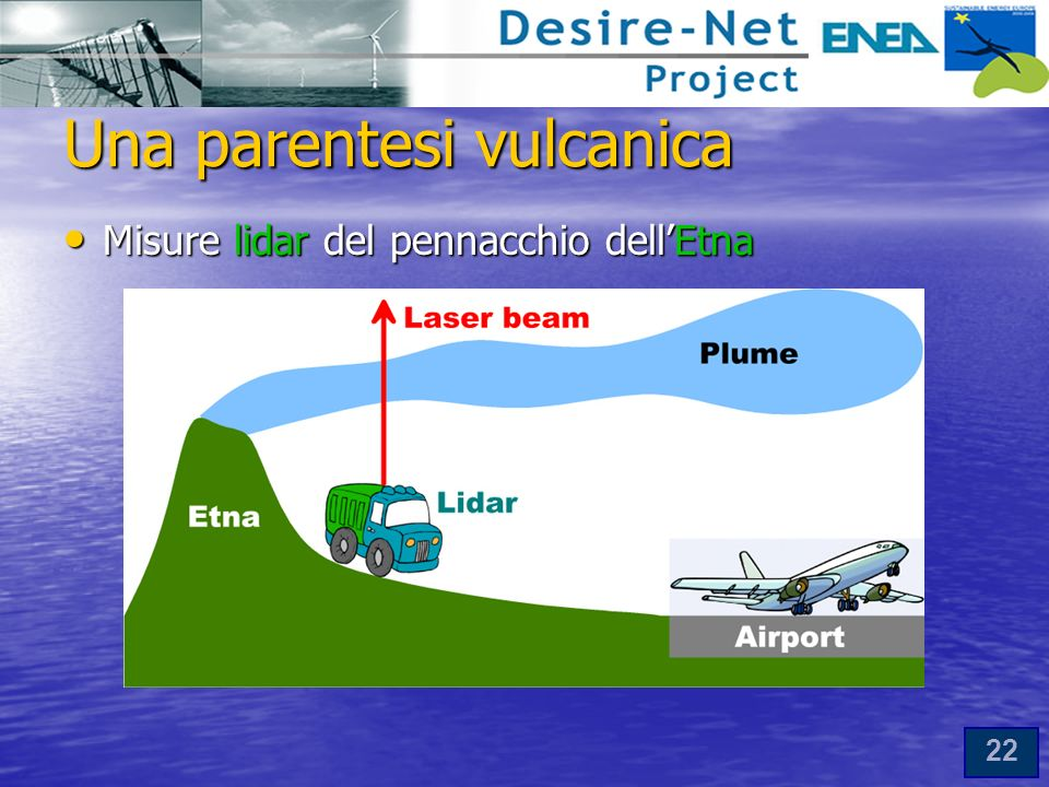 Una parentesi vulcanica