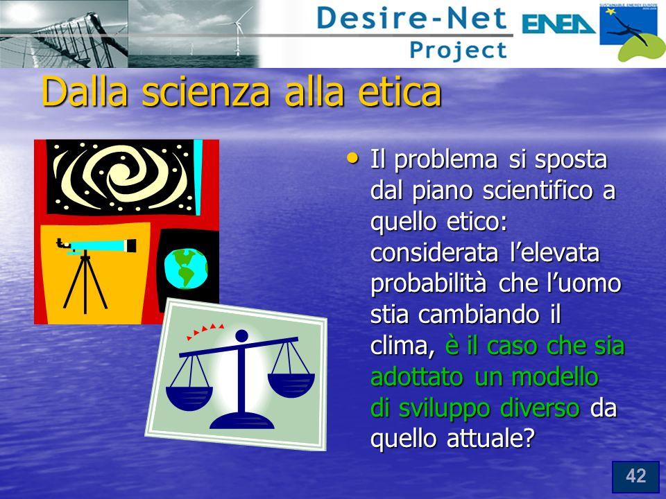 Dalla scienza alla etica