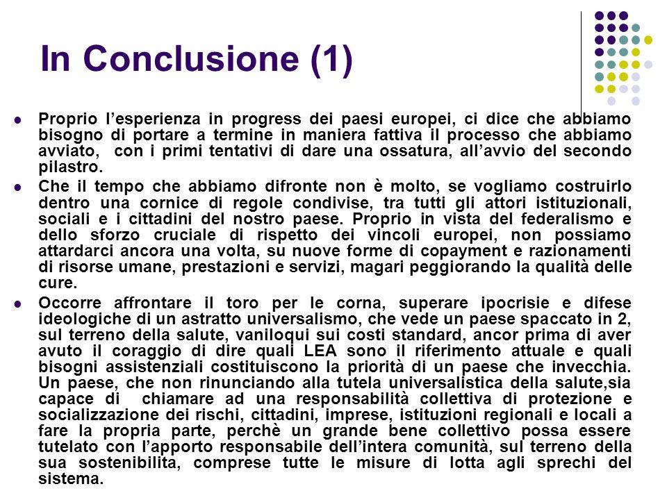 In Conclusione (1)