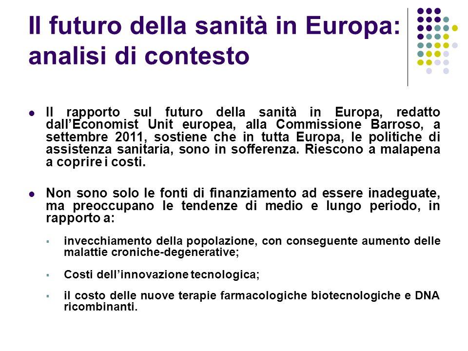 Il futuro della sanità in Europa: analisi di contesto
