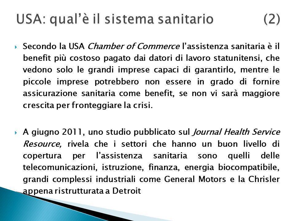 USA: qual'è il sistema sanitario (2)