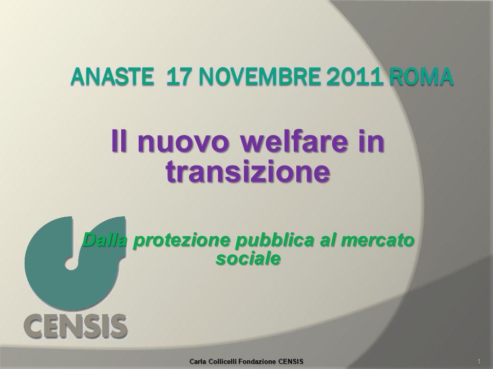 Il nuovo welfare in transizione