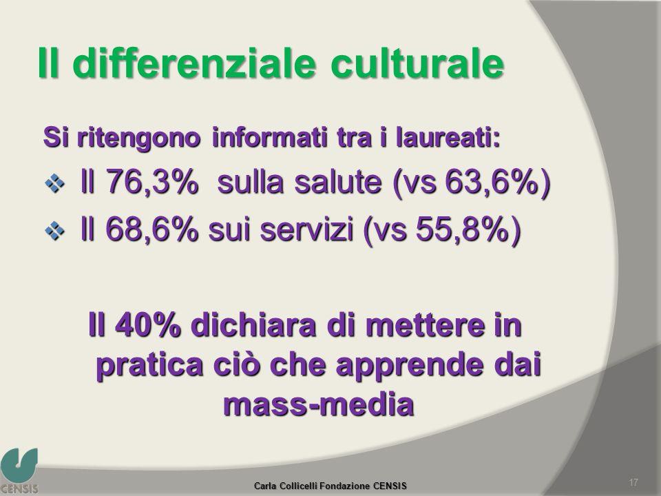 Il differenziale culturale