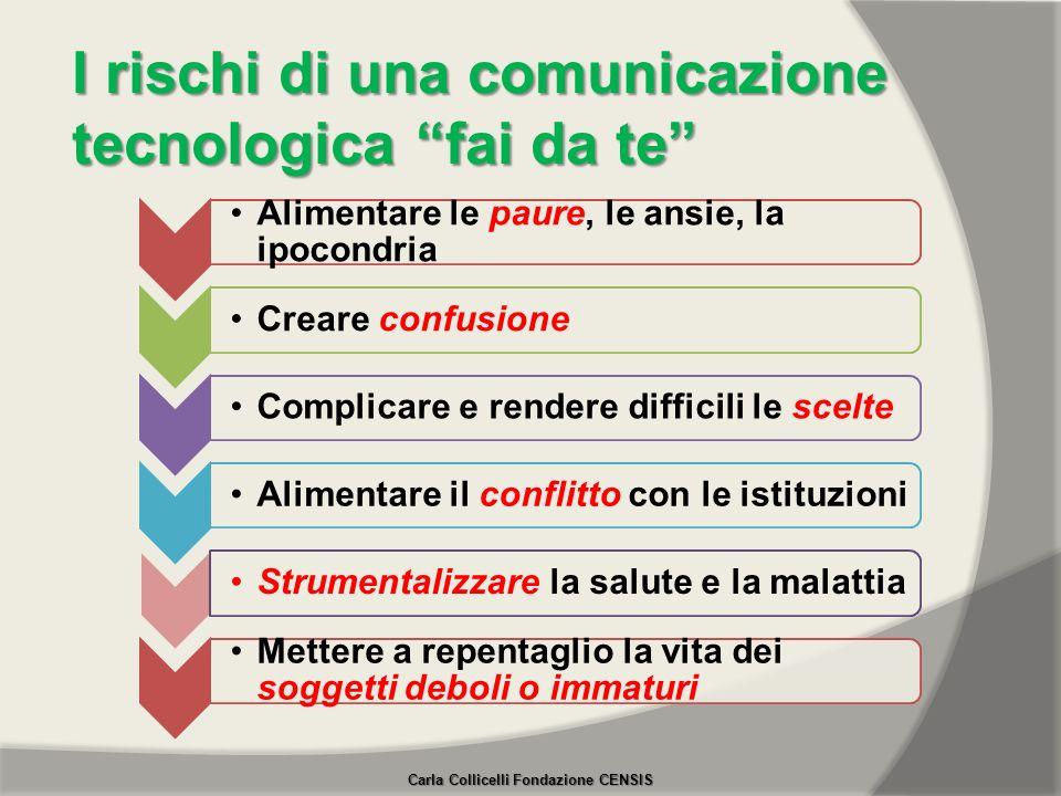 I rischi di una comunicazione tecnologica fai da te