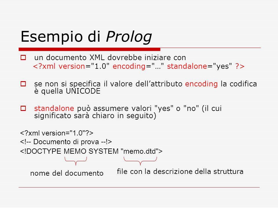 < xml version= 1.0 encoding= … standalone= yes >