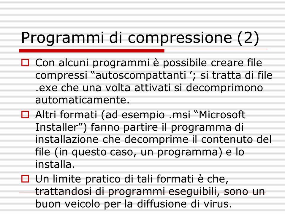 Programmi di compressione (2)