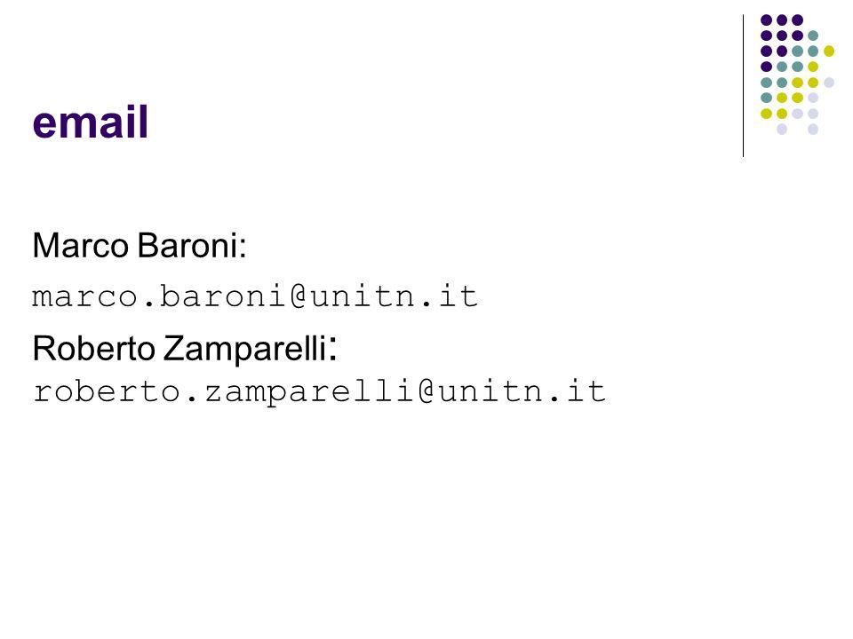 email Marco Baroni: marco.baroni@unitn.it Roberto Zamparelli: roberto.zamparelli@unitn.it 11