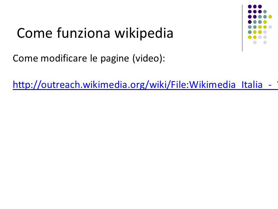 Come funziona wikipedia