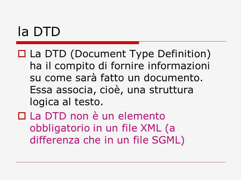 la DTD