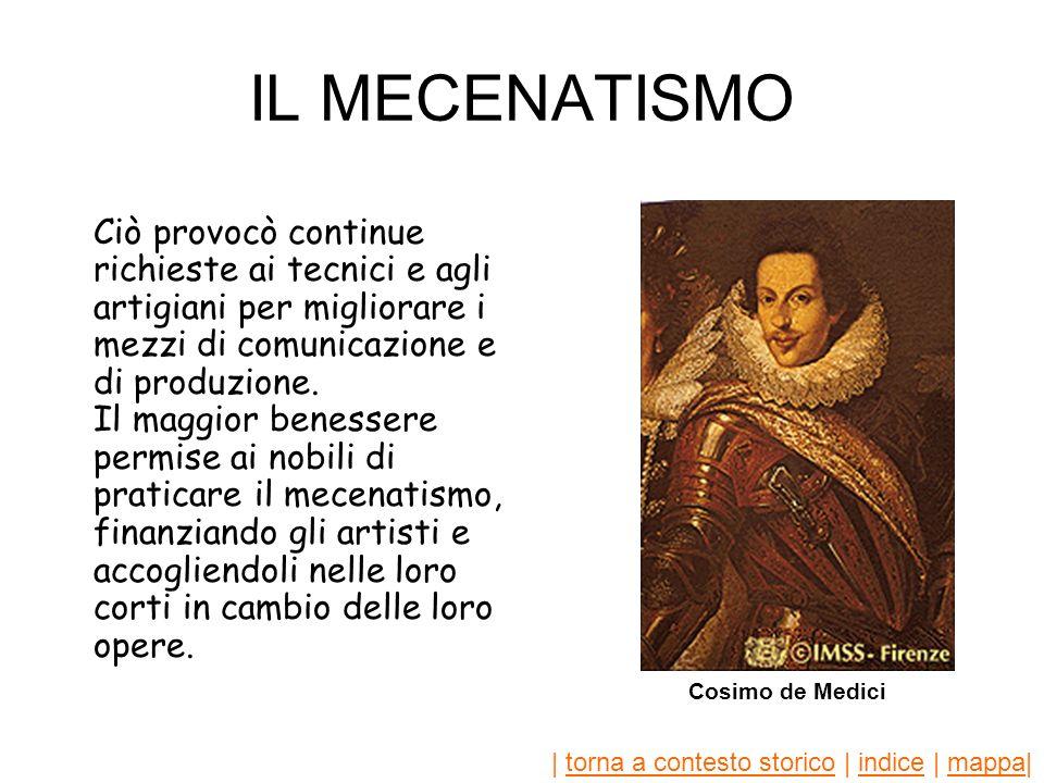 IL MECENATISMO