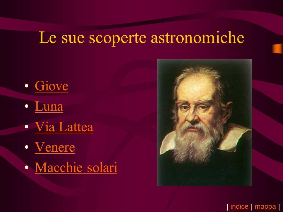 Le sue scoperte astronomiche