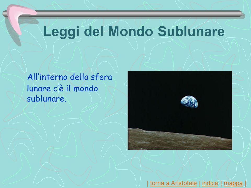Leggi del Mondo Sublunare
