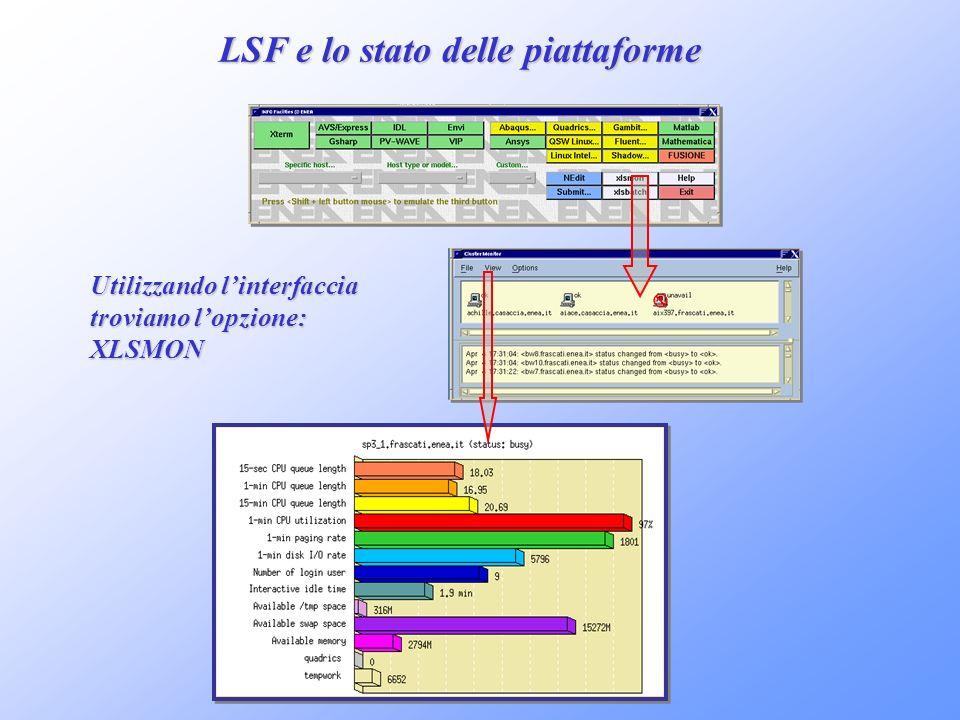 LSF e lo stato delle piattaforme