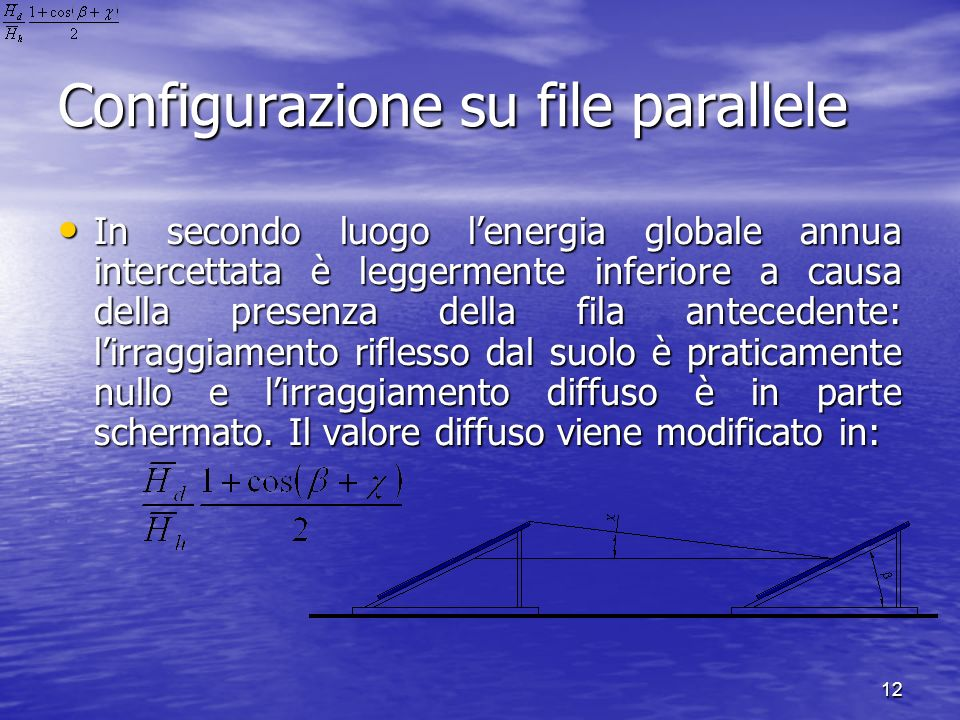 Configurazione su file parallele