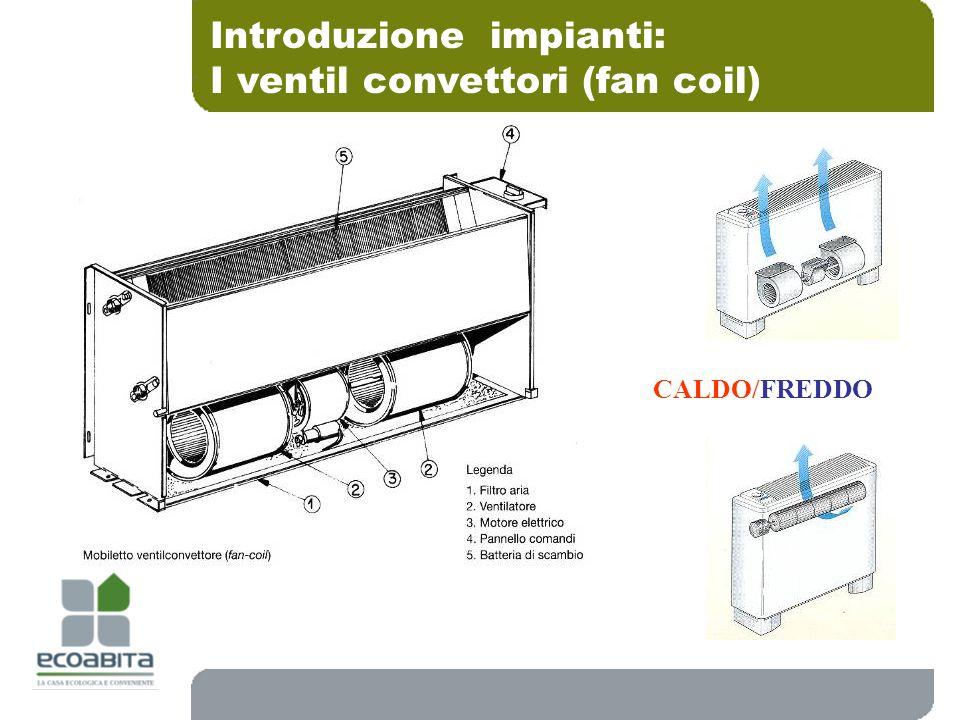 Introduzione impianti: I ventil convettori (fan coil)