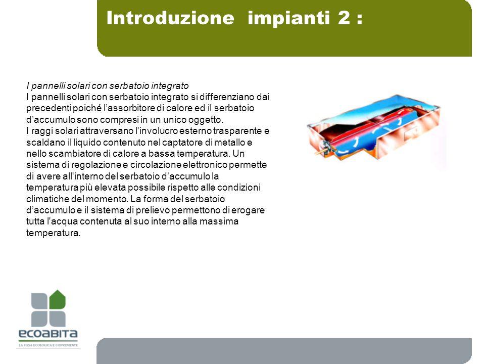 Introduzione impianti 2 :