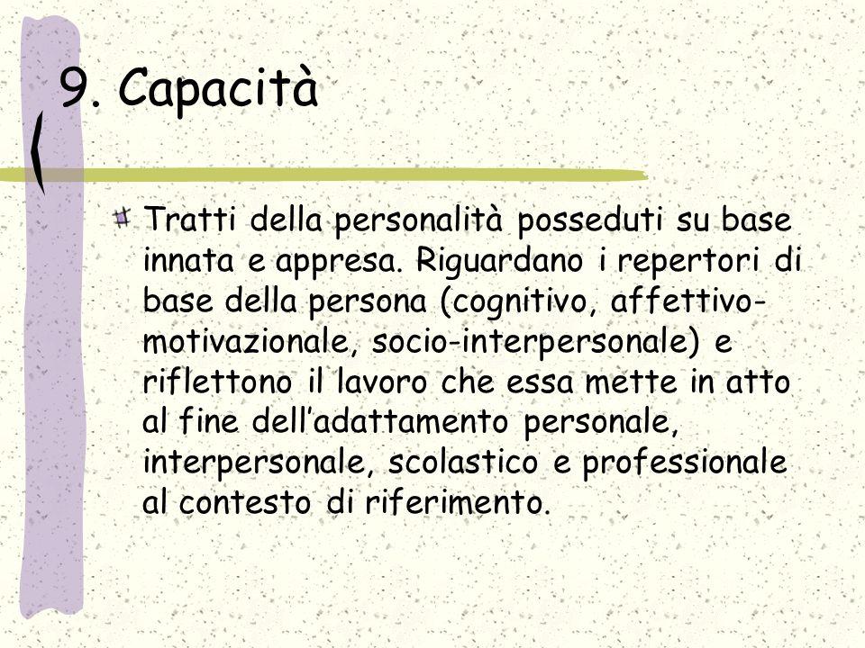 9. Capacità