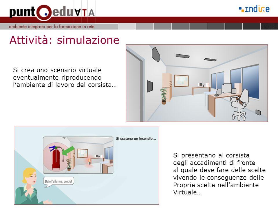 Attività: simulazione