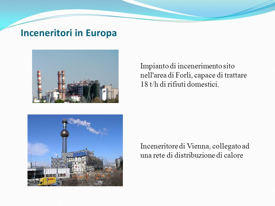 Inceneritori in Europa