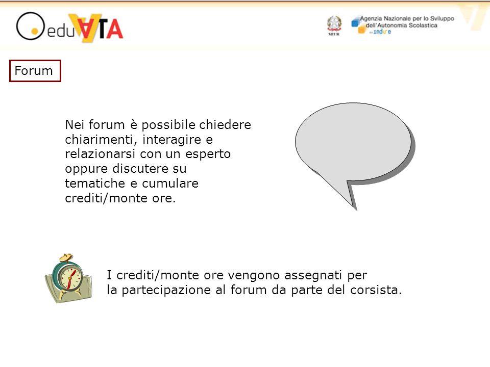Forum Nei forum è possibile chiedere. chiarimenti, interagire e. relazionarsi con un esperto. oppure discutere su.