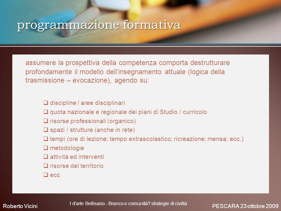 programmazione formativa