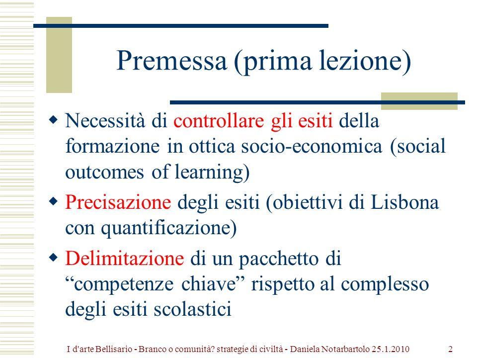 Premessa (prima lezione)