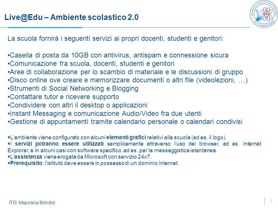 Live@Edu – Ambiente scolastico 2.0