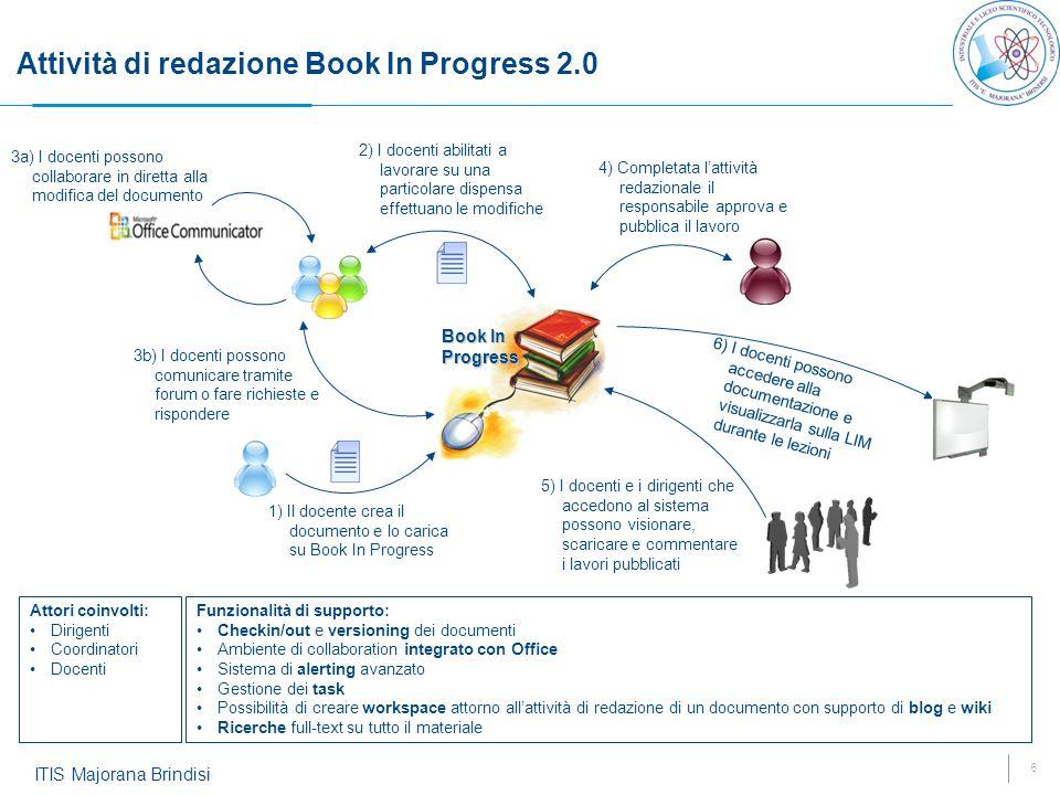 Attività di redazione Book In Progress 2.0