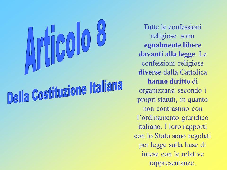 Della Costituzione Italiana