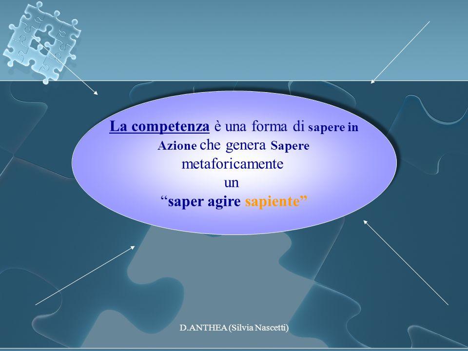 La competenza è una forma di sapere in metaforicamente un