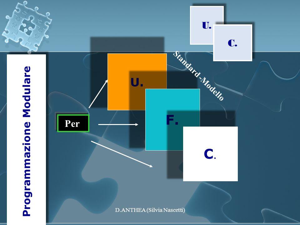 F. C. U. U. C. Programmazione Modulare Per Standard -Modello