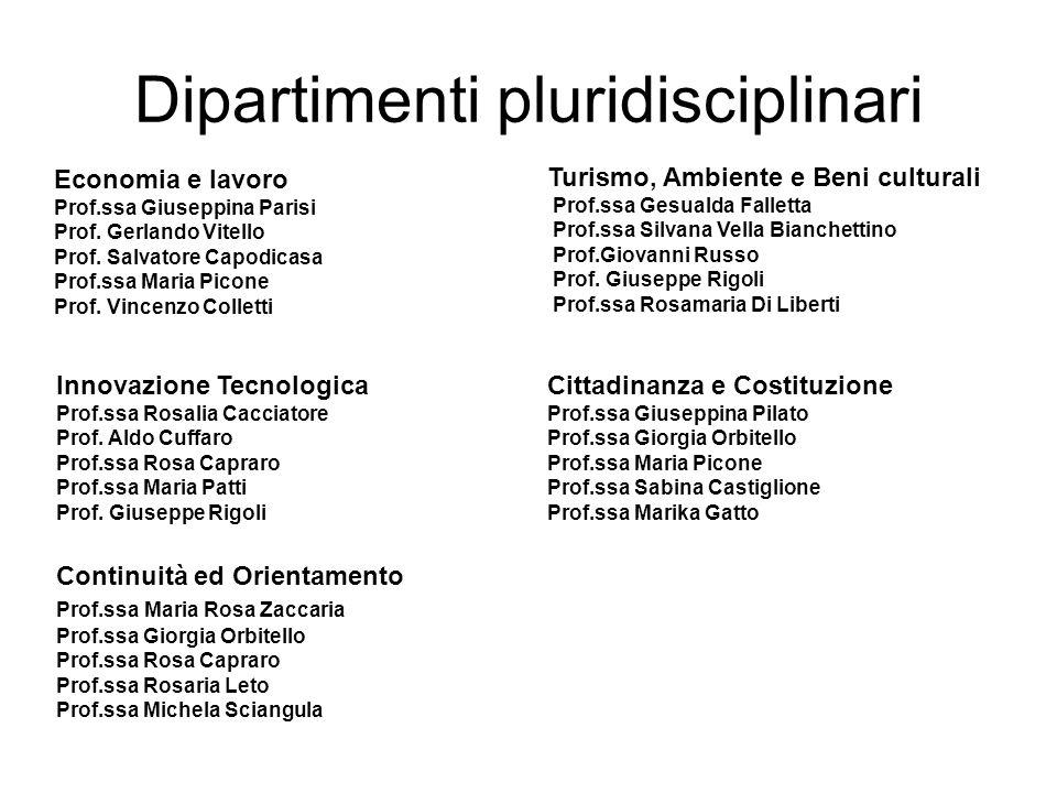 Dipartimenti pluridisciplinari