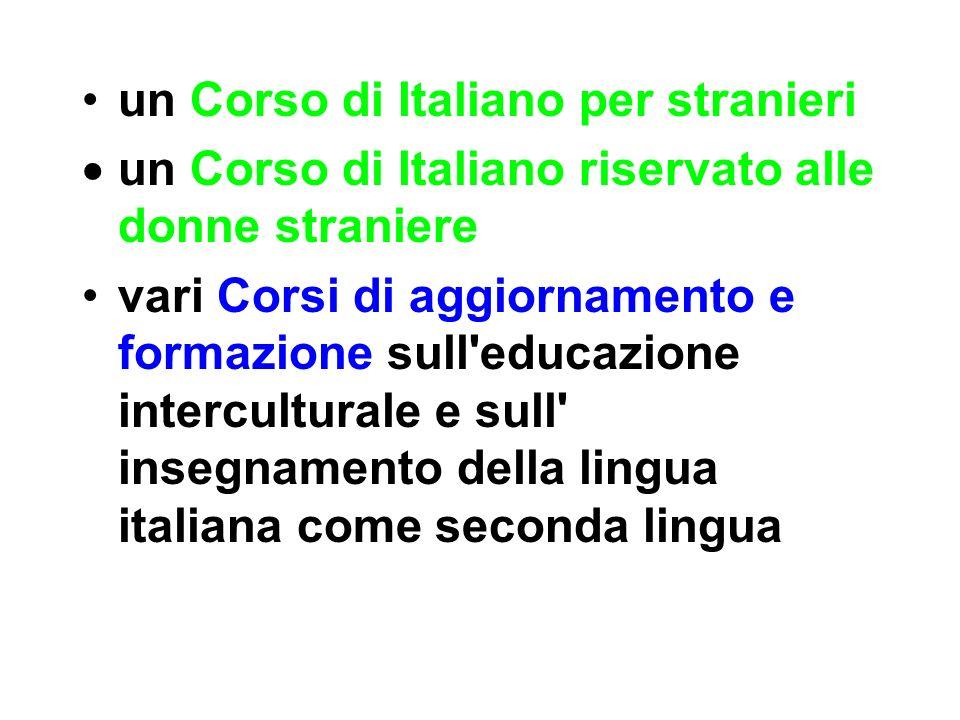 un Corso di Italiano per stranieri
