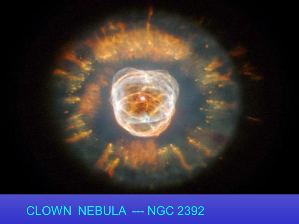 CLOWN NEBULA --- NGC 2392 49