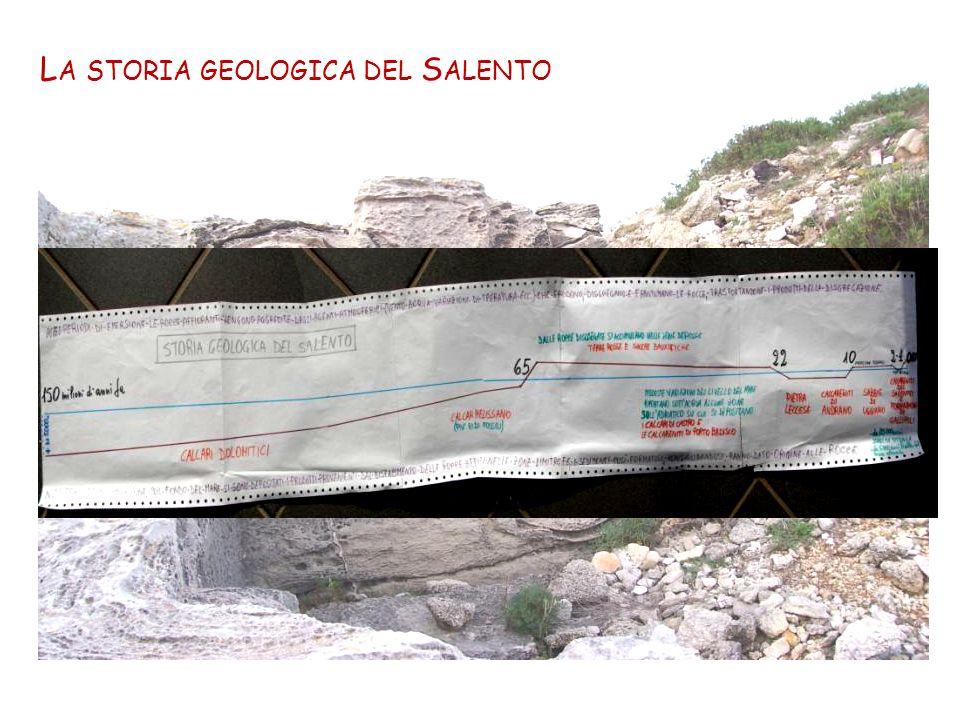 La storia geologica del Salento