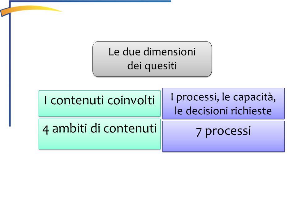 I processi, le capacità, le decisioni richieste