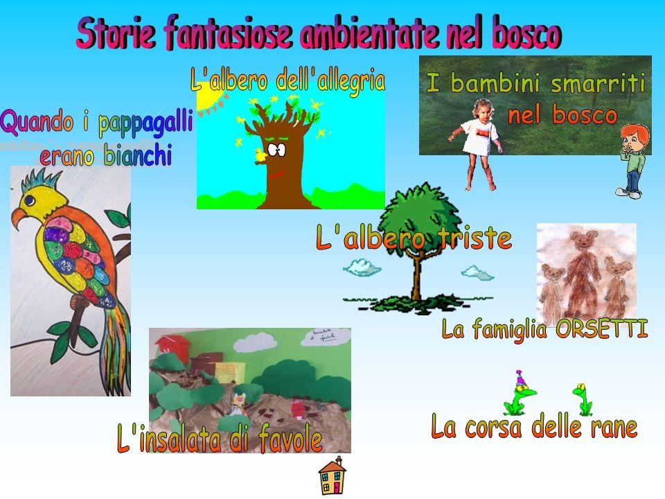 Storie fantasiose ambientate nel bosco