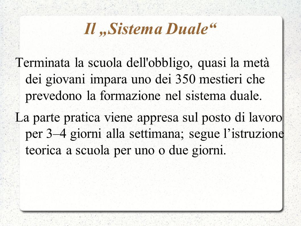"Il ""Sistema Duale"