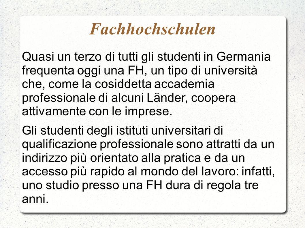Fachhochschulen