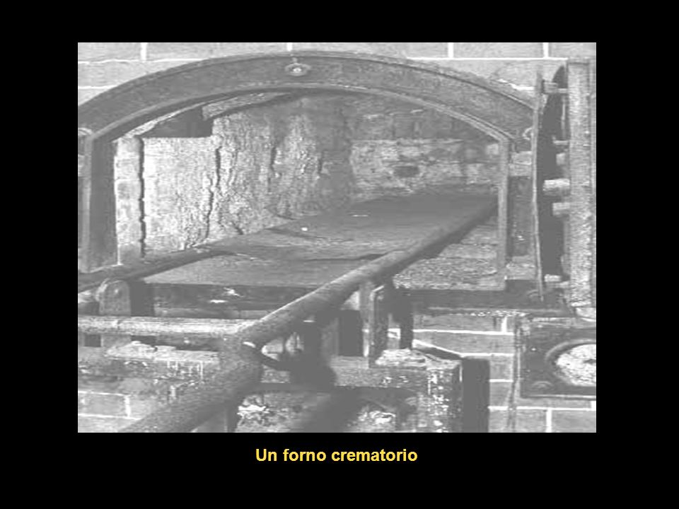 Un forno crematorio