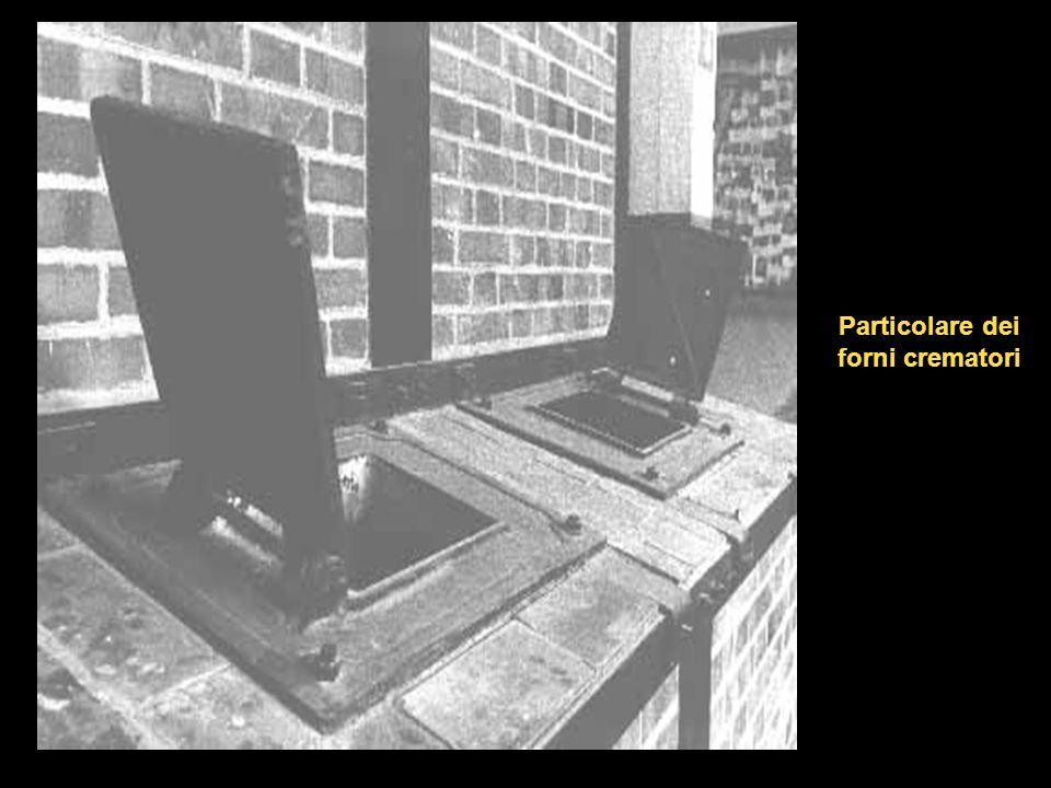 Particolare dei forni crematori