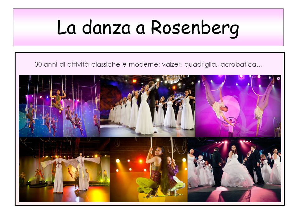 La danza a Rosenberg * 1414## 16.07.1996 *