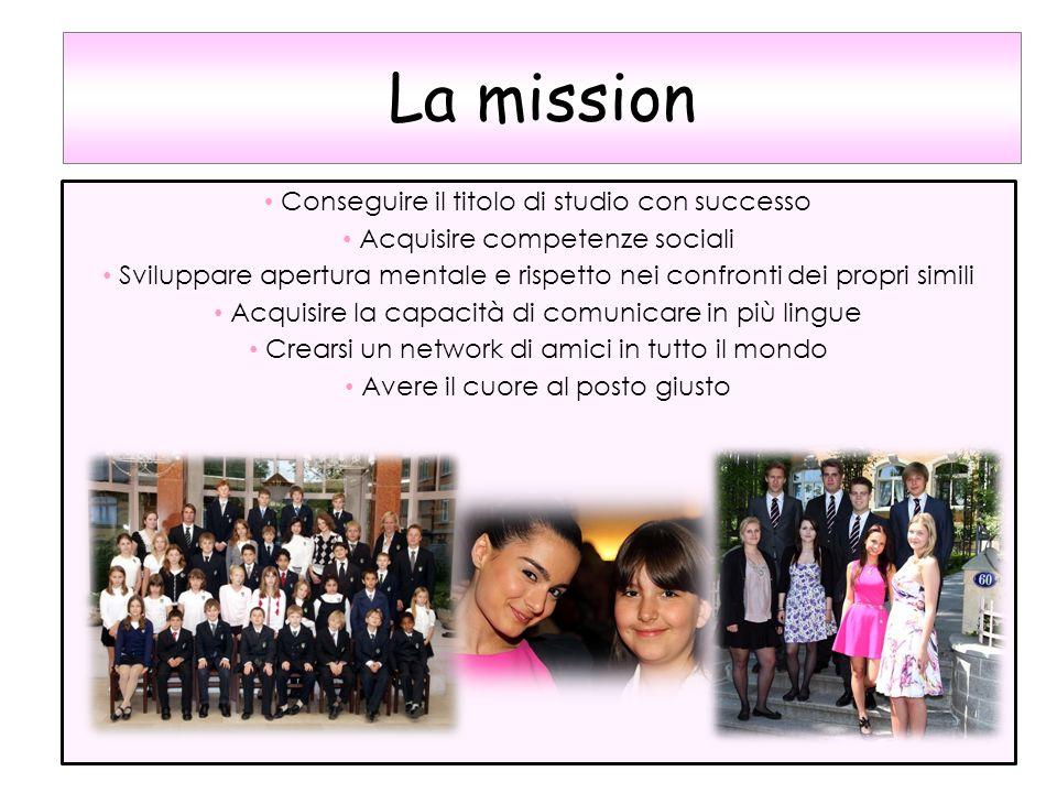 La mission Conseguire il titolo di studio con successo