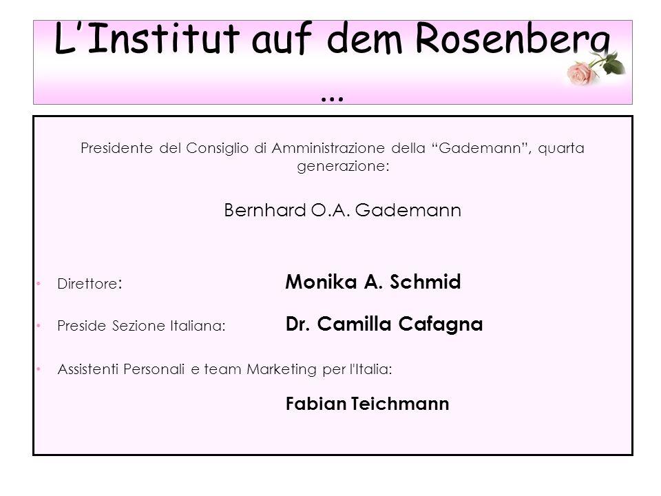 L' Institut auf dem Rosenberg …