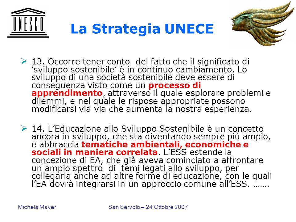 La Strategia UNECE