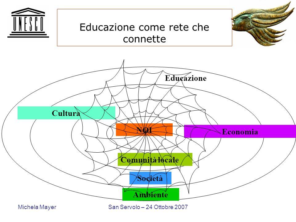 Educazione come rete che connette