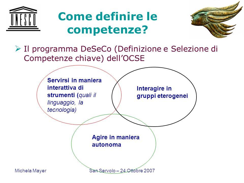 Come definire le competenze