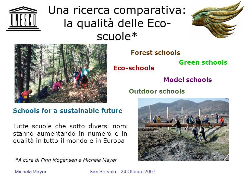 Una ricerca comparativa: la qualità delle Eco-scuole*